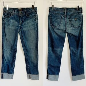 Citizens of Humanity Manic Mini Boot Crop Jeans 27